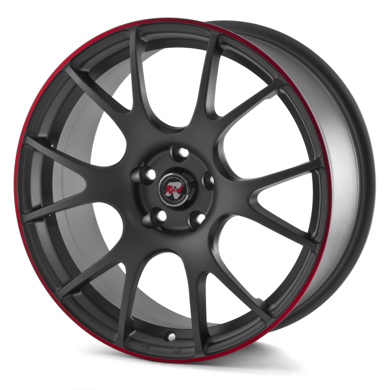 Rad Tech 121 Graphite RedStripe