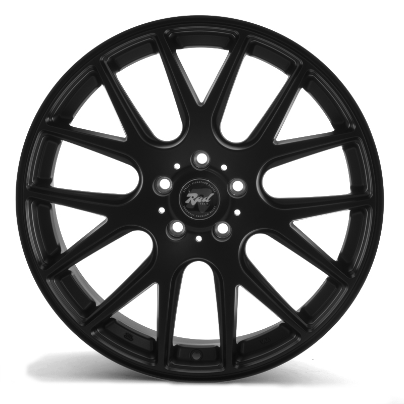 Rad Tech 208 Matt Black
