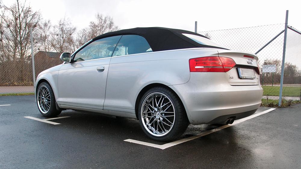 Audi A3 med Rad Tech 185 Hyper