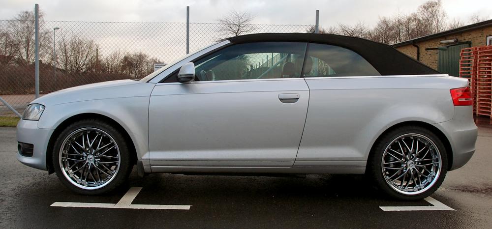Rad Tech 185 Hyper på en Audi A3