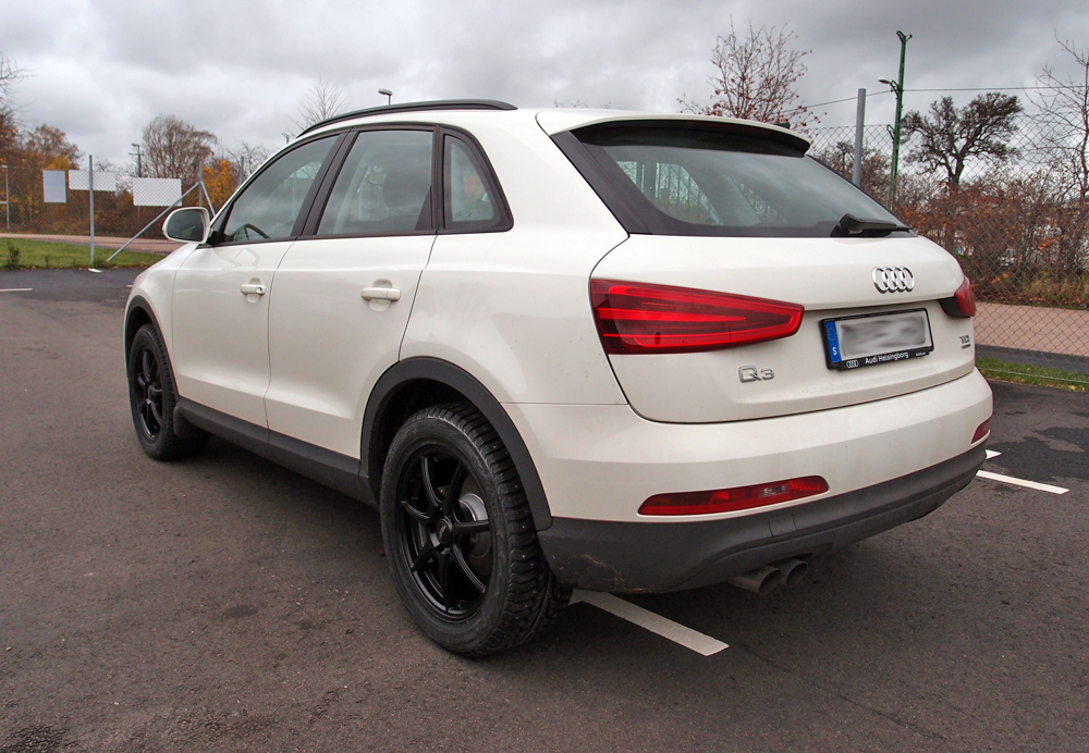 Audi Q3 med Inter Action Black Ice