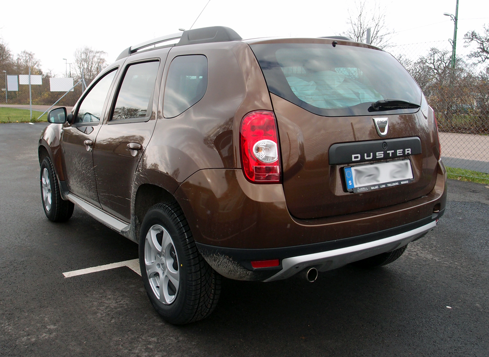 Dacia Duster med Inter Action Lunar