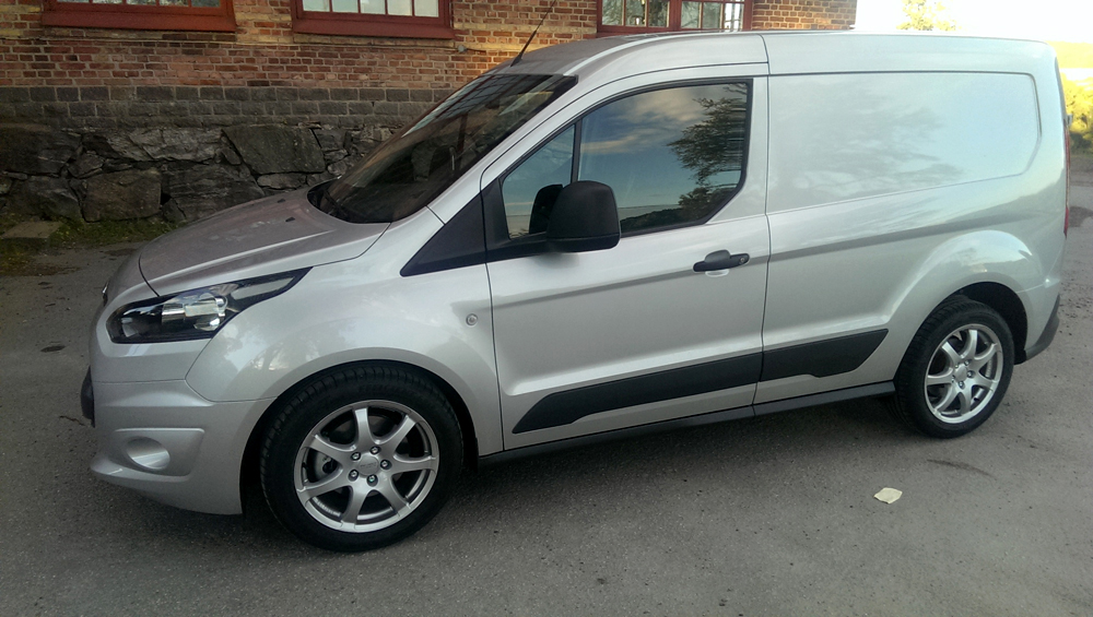 Ford Transit Connect med 17-tum Anzio Light
