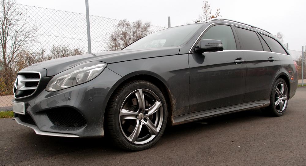 Mercedes E-Klass med Brock B25 CSS