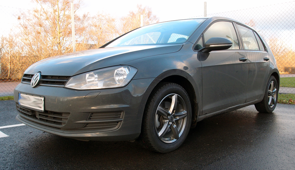 RC Design 24 Titan på en Volkswagen Golf