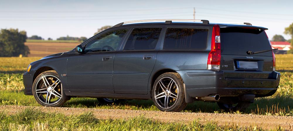 Volvo V70 med 19-tums Brock B33 SGVP