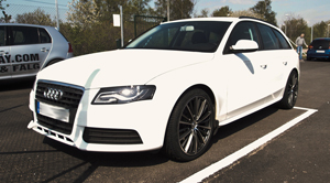 Audi med Velocity fälgar