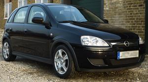 Opel med RC 14 fälgar