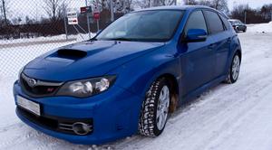 Subaru med RC 15 fälgar
